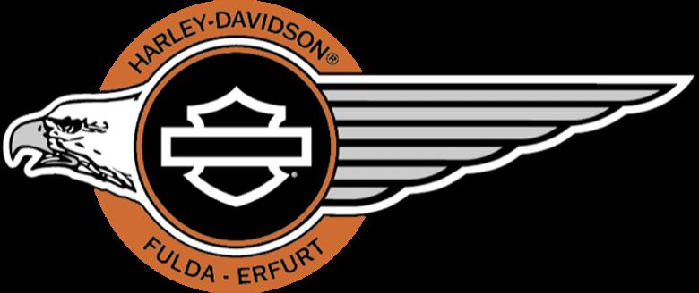 Harley Davidson Fulda Erfurt Eagle Logo Bar & Shield